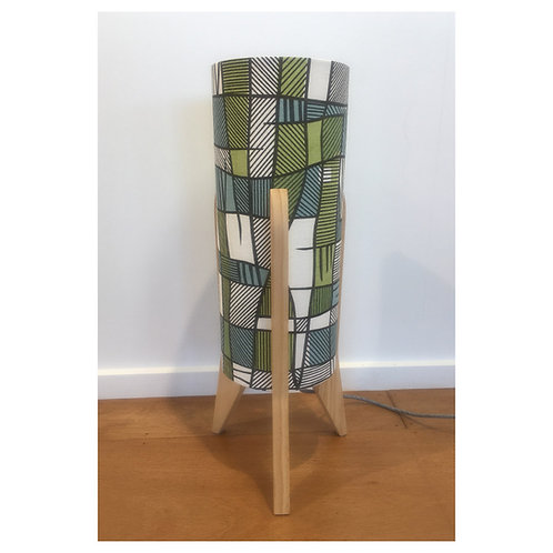Small Lamp - Hemp/Organic Cotton/Pine
