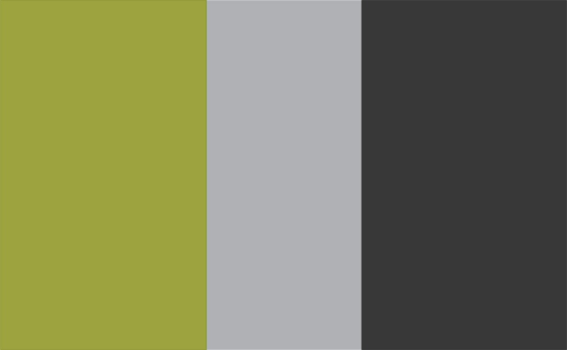 3 Colour Combination-Green/Grey/Charcoal