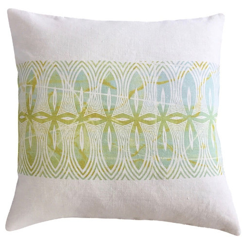 Pasifika Cushion Cover - Hemp Canvas