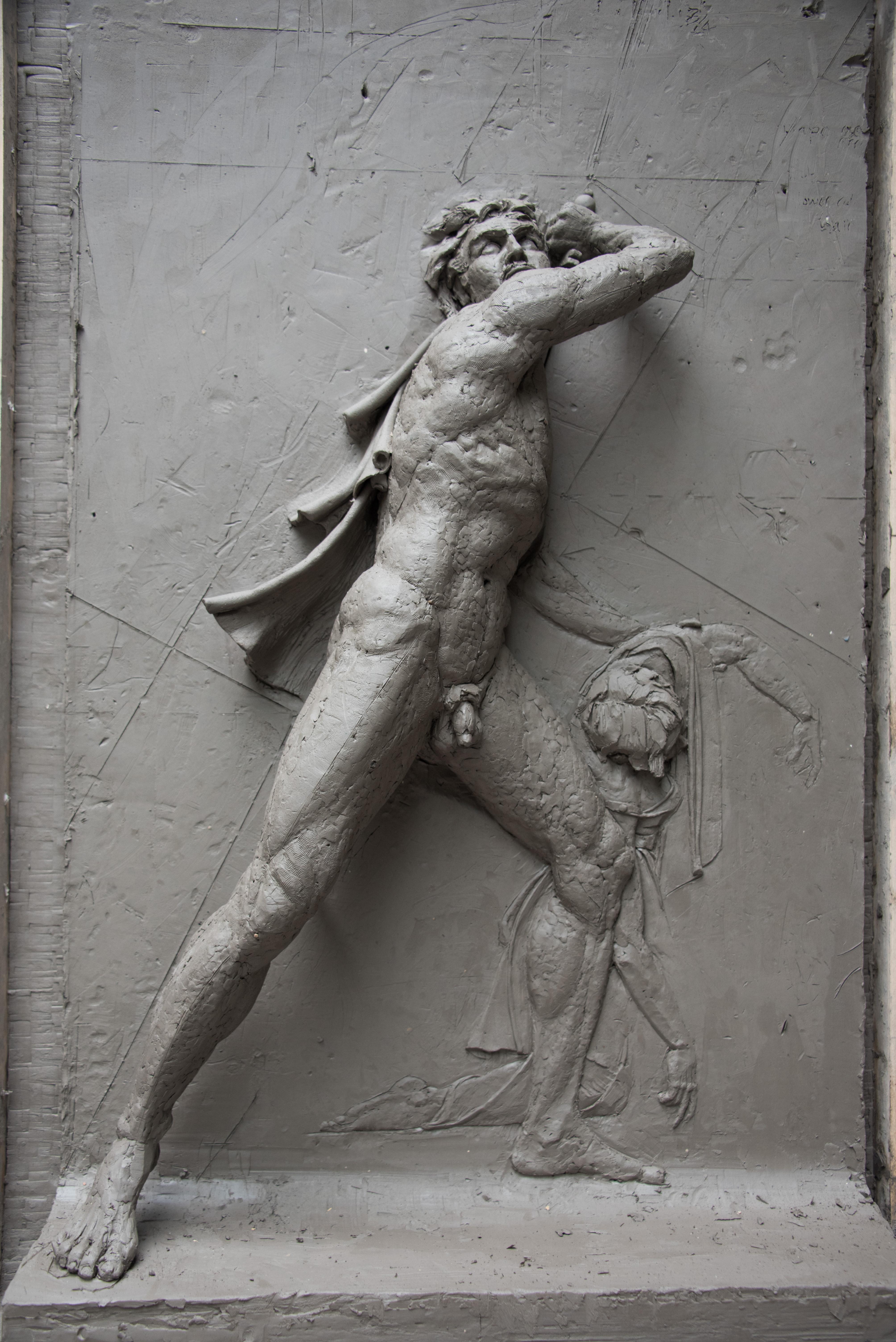 Scale relief Ludovisi Gaul