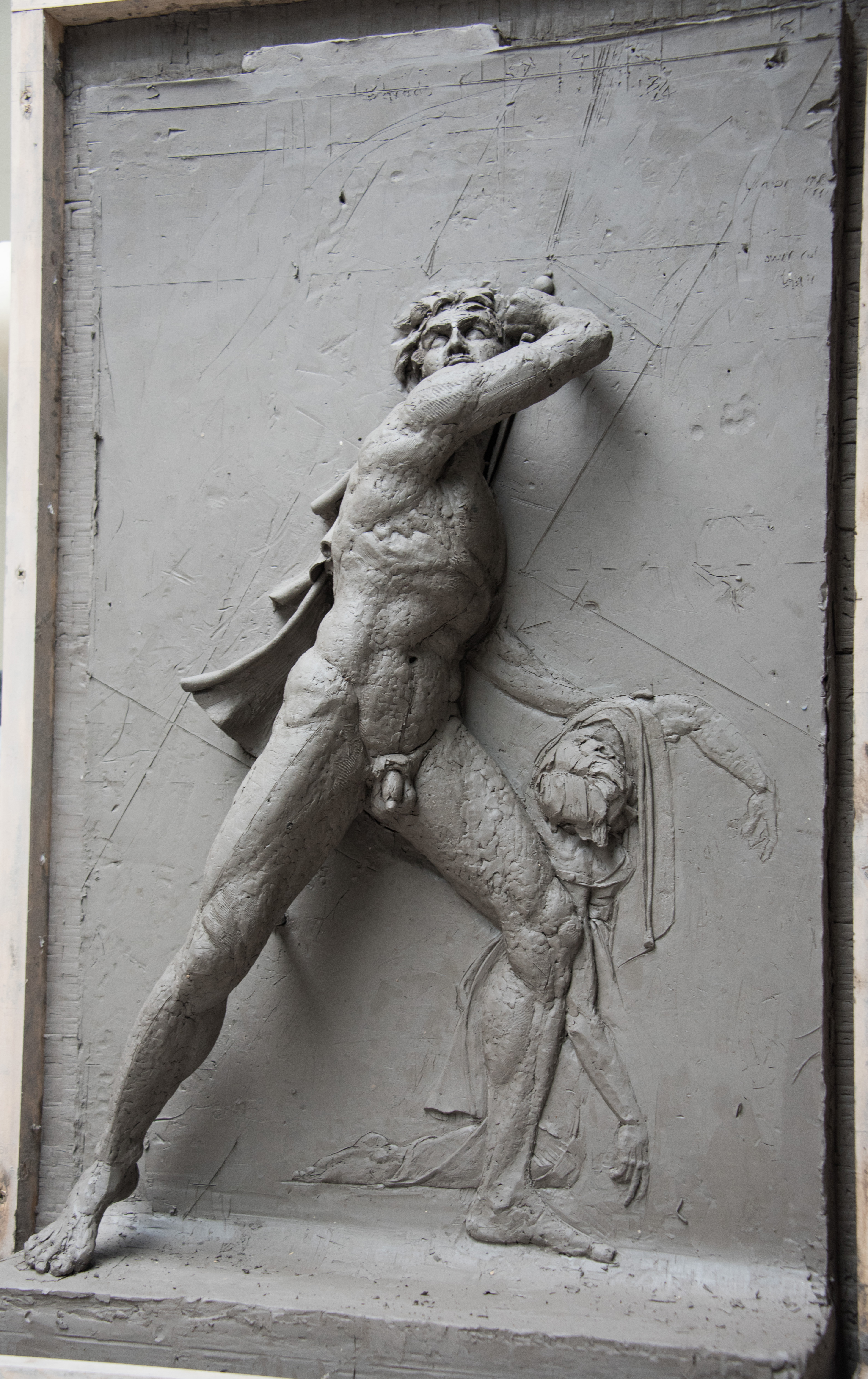 Scale relief Ludovis Gaul
