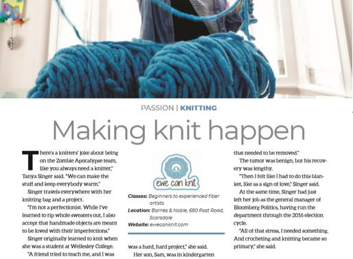 Going Public as a Knitter