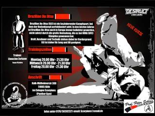 Brazilian Jiu Jitsu bei den Cologne Scorpions