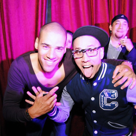 Taboo of The Black Eyed Peas & Tyron Dixon