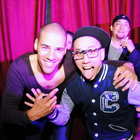 Taboo of The Black Eyed Peas & Tyron Dixon