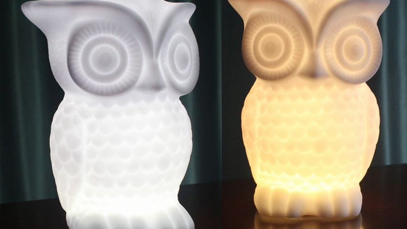 貓頭鷹LED小夜燈(電池款式)