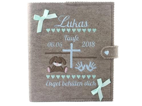 Personalisiertes Taufbuch, Taufalbum DIN A5, 36 Innenseiten