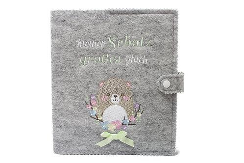 Babytagebuch, Babyalbum DIN A5, 46 Innenseiten zum Ausfüllen