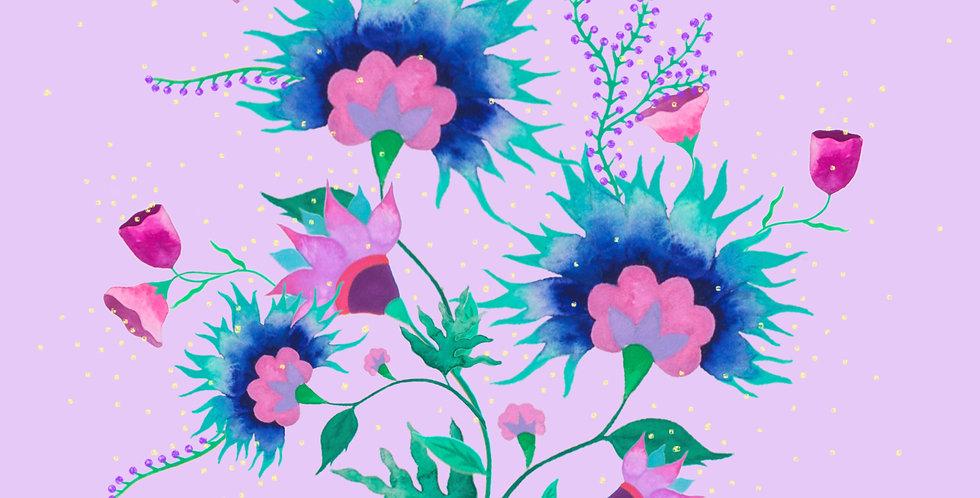 Folk Flowers No.3