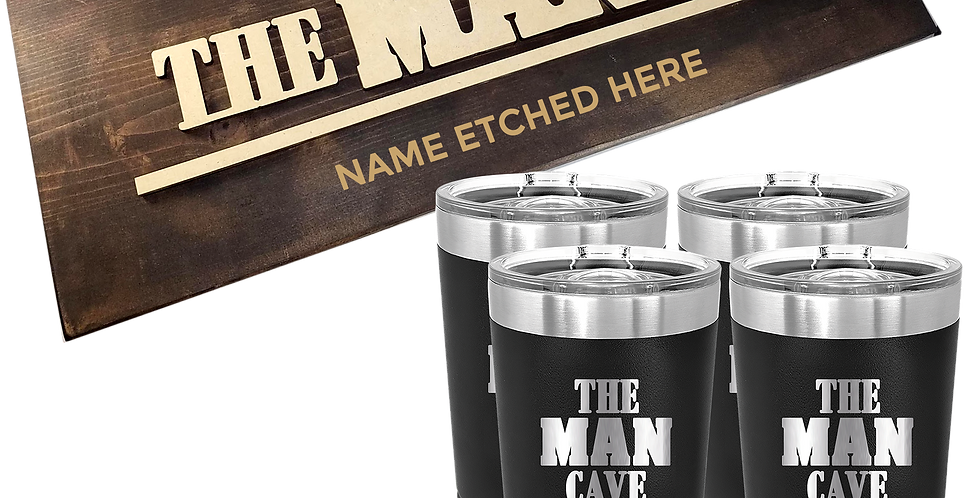 """Man Cave"" Bundle Gift"