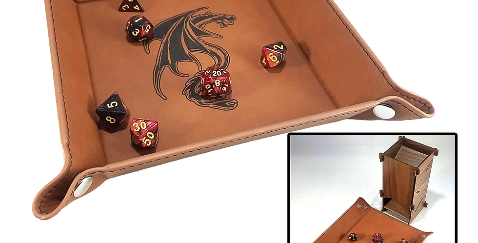 D&D Etched Dice Tray