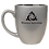 Thumbnail: (Set of Four) Bistro Mugs Black Engraved 16oz LMG67