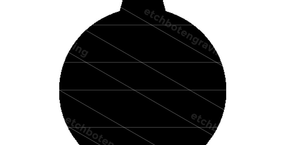 Laser Shapes: Ornament Ball Shape