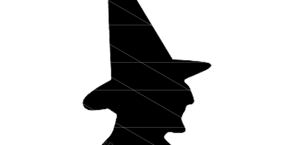 Laser Shapes: Witch Head
