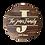 "Thumbnail: Wood Decor Circle ""Family Name""sign"