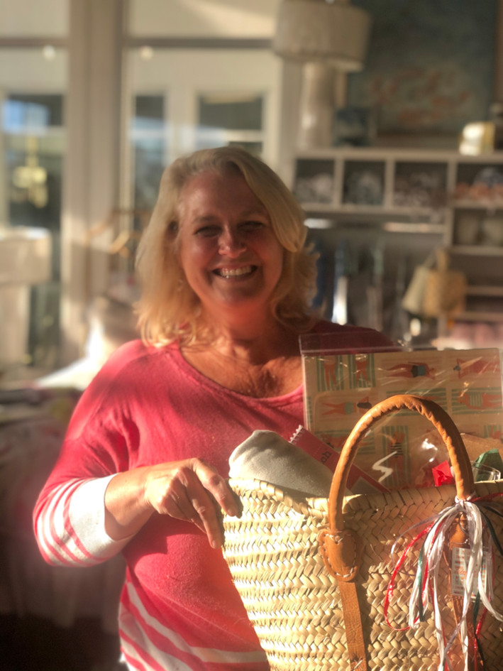 Karin Anderson, Owner Drift 30A and voted Best Decorated Home