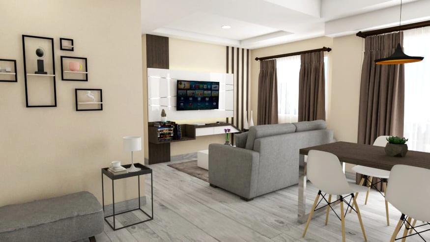 2 bedroom / 75m2