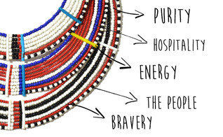 Maasai Jewellry and their Colors