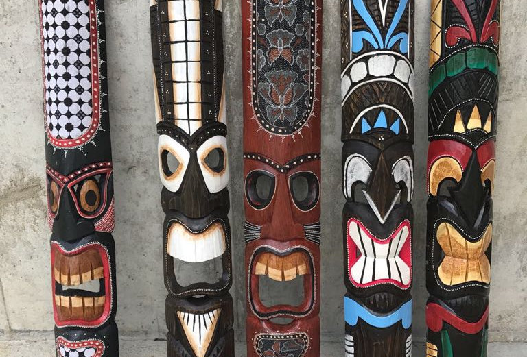 5 Assorted: Decorative Masks