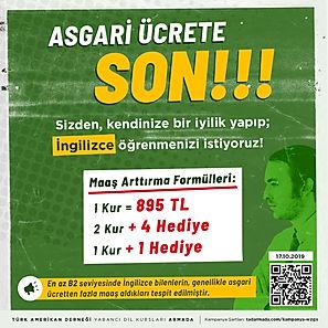 TAD YDK - Asgari Ucrete Son - SM - Norma