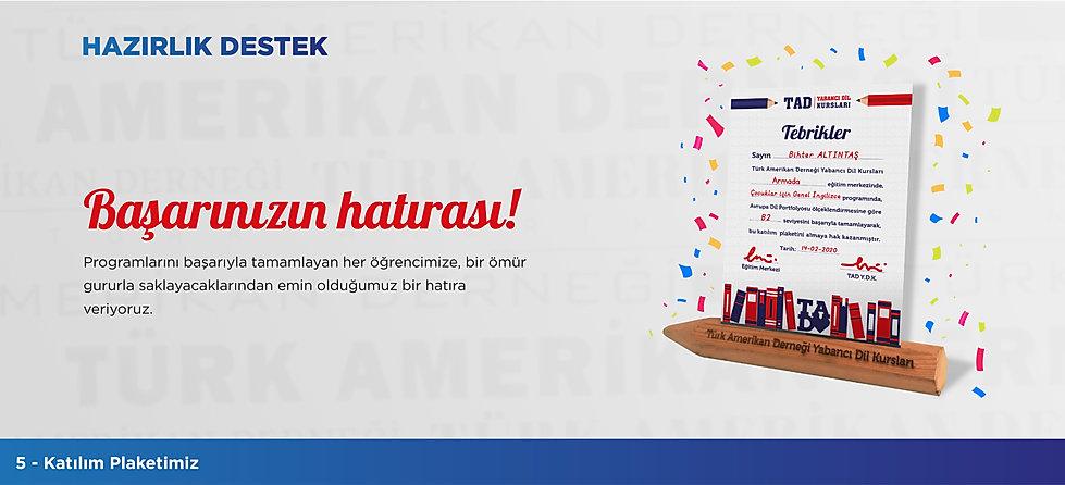 Türk Amerikan Derneği - Hazırlık Destek
