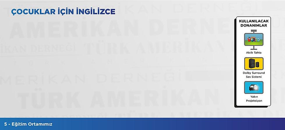 Türk Amerikan Derneği - Çocuklar İçin İngilizce