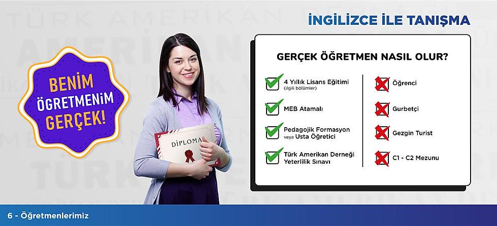 Türk Amerikan Derneği - İngilizce ile Tanışma