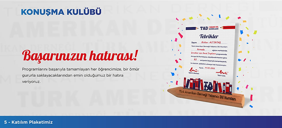 Türk Amerikan Derneği - Konuşma Kulübü