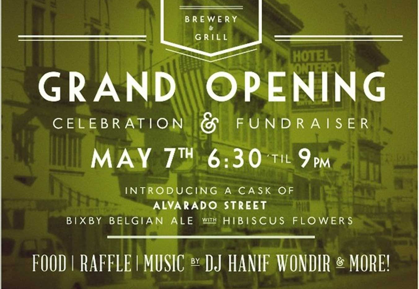 Alvarado Street Brewery Grand Opening Fl
