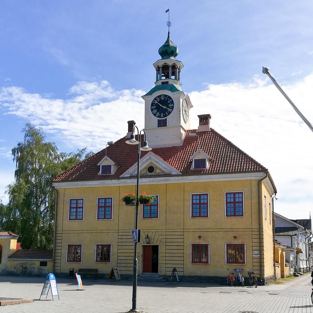 Torin laidalla sijaitseva Raatihuone toimii nykyisin museona.