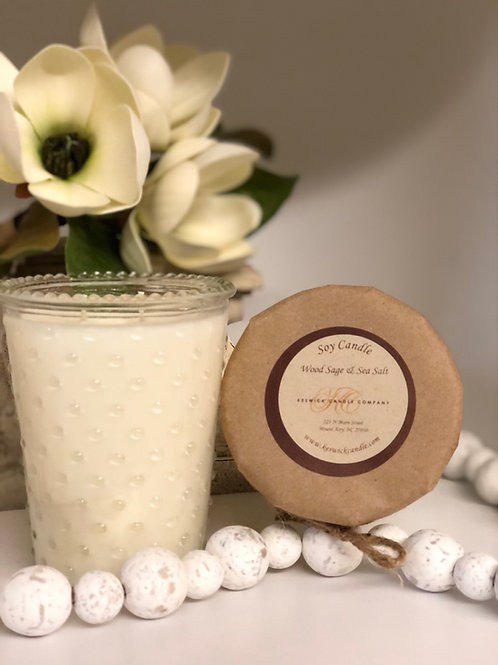 Hobnail 2 Wick Soy Candle