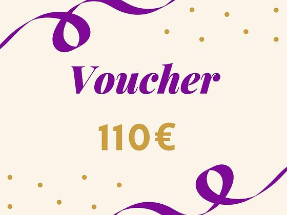 Voucher 110€