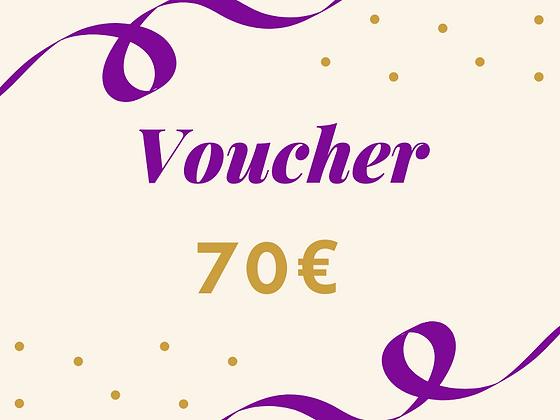 Voucher 70€