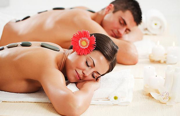 Massagem Pedras Quentes A DOIS 60min