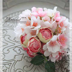 桜のコサージュ