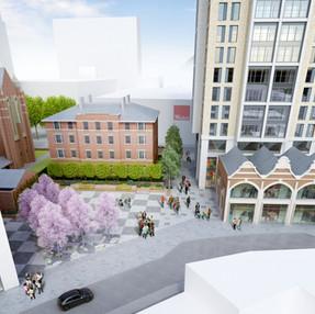 St Michael's Square, Croydon. Barratts