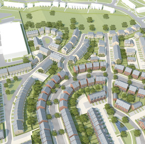 GSK Masterplan, Dartford. Barratt Ward Homes