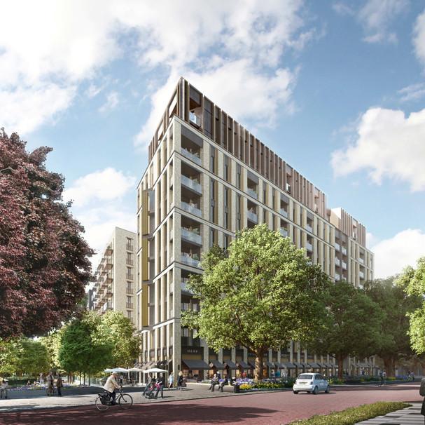Clapham Park Retirement Living. Metropolitan. Designed by PRP