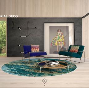 Interior marketing suite, Lendlease