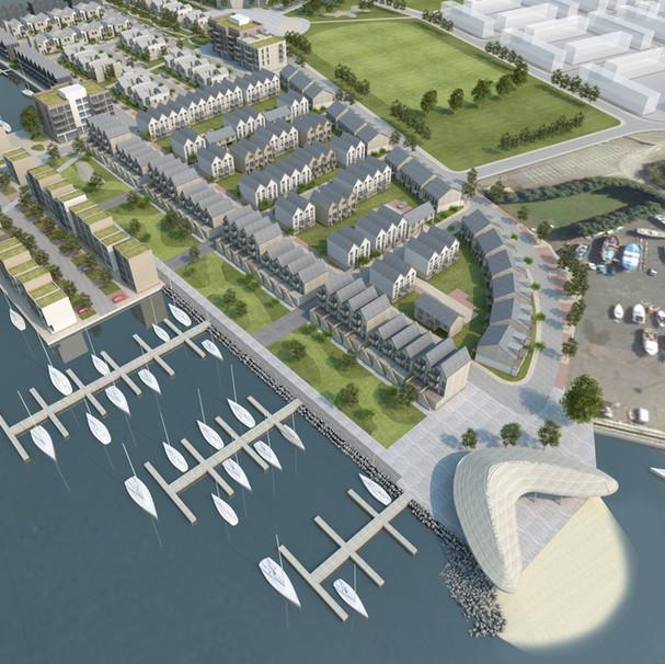 Brooke Peninsula, Lowestoft. Cardy Construction