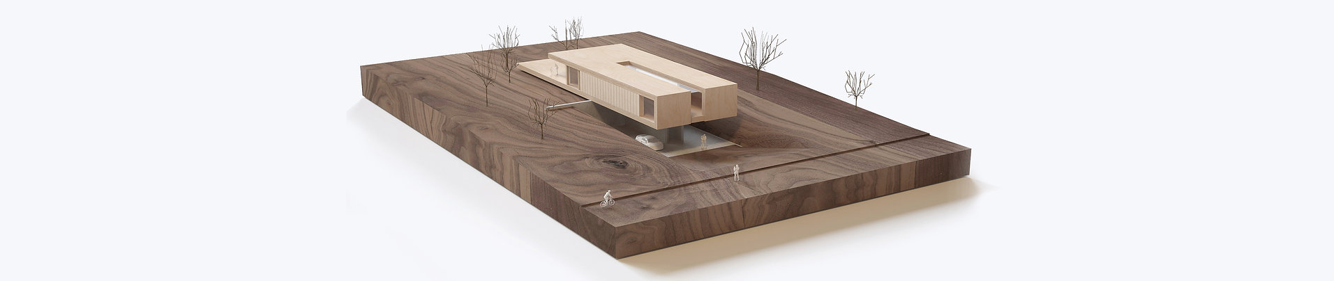 Architectural model private house