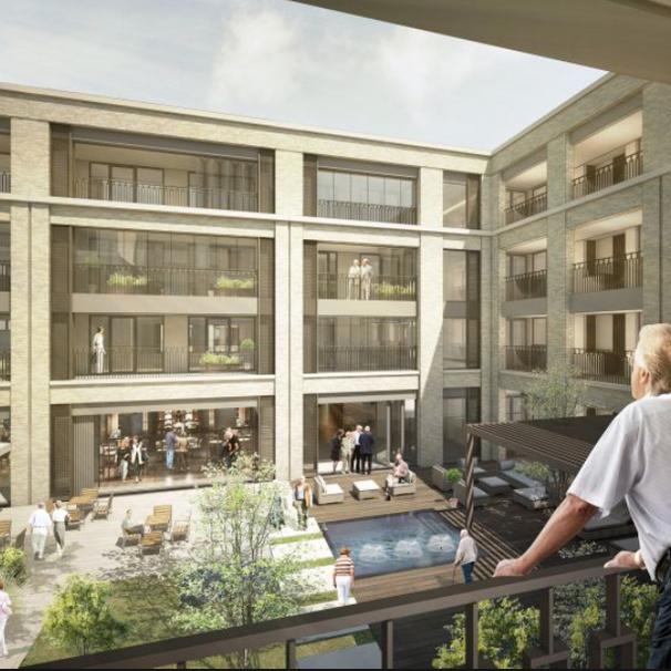 Felnex Assisted Living, Hackbridge. Barratts. Designed by PRP