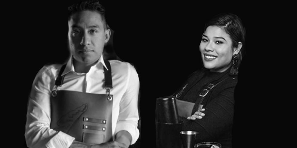 Guest bartending - Sheila Zenteno (Fairmont Mayakoba) + George Hernández (Jura)