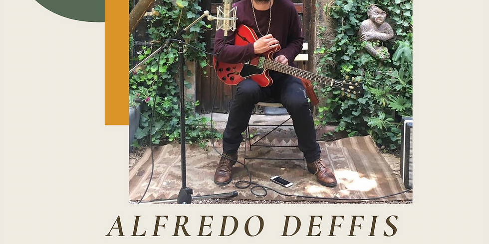 Alfredo Deffis (Hot Club) - Guitarra y Voz