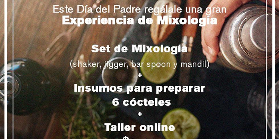 Regalo para el Día del Padre - Set + experiencia de Mixología