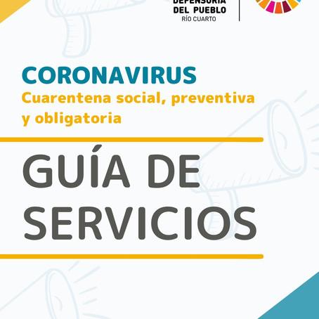GUÍA DE SERVICIOS - Covid19
