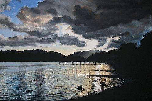 Moody skies over Derwent Water