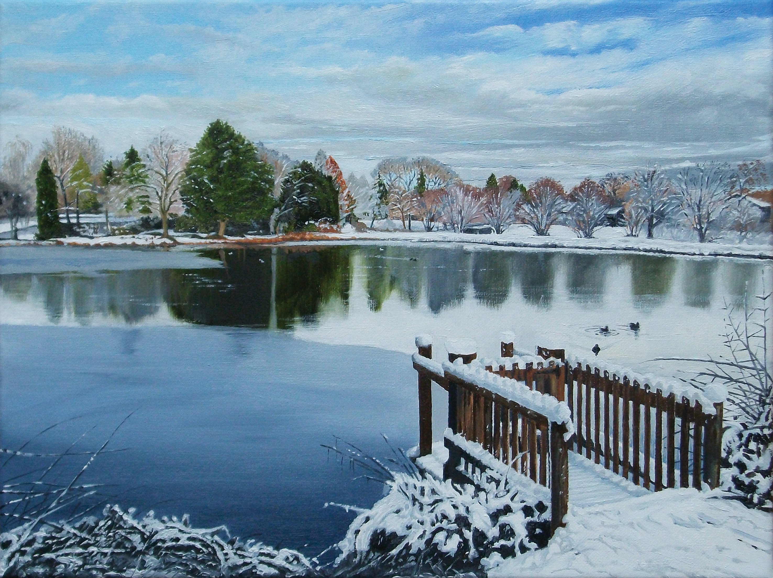 Bodenham-Big-pool-snow