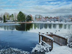 Bodenham-Big-pool-snow