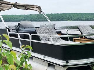 Pontoon Boat Makeover